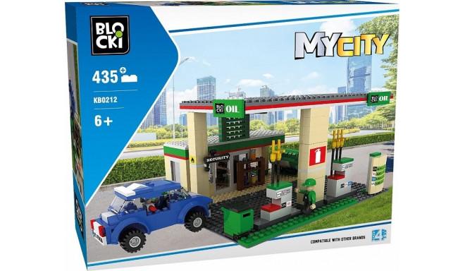 Blocks MyCity 435 pcs Gas station