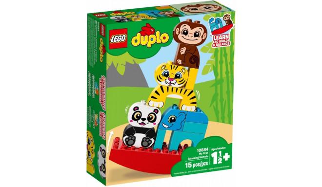 LEGO Duplo mänguklotsid Minu esimesed tasakaalustatavad loomad (10884)