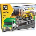 Blocks MyCity 145 elements Tow truck
