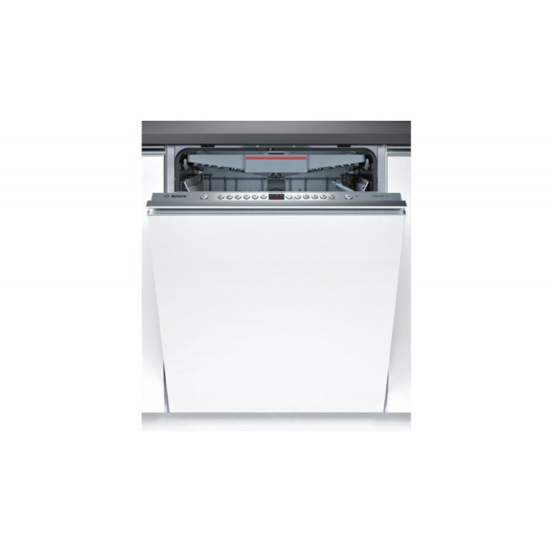 Dishwasher for installation BOSCH SMV46KX01E (598 mm; Integrated (covered); silver color)