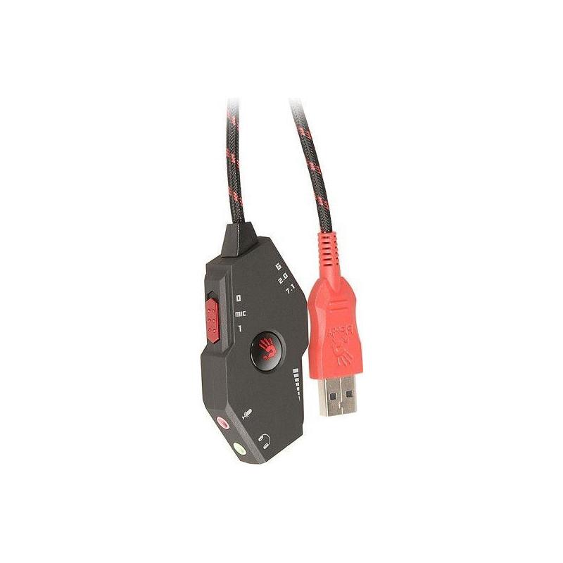 Card sound A4 TECH Gaming G480 A4TSLU44313 (External; USB 2.0)