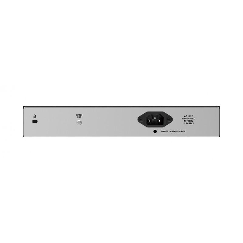 D-Link Switch DES-1018P Unmanaged, Desktop, 1