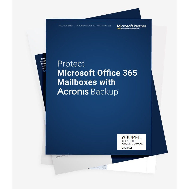 Acronis 1 year(s), Backup Standard Office 365