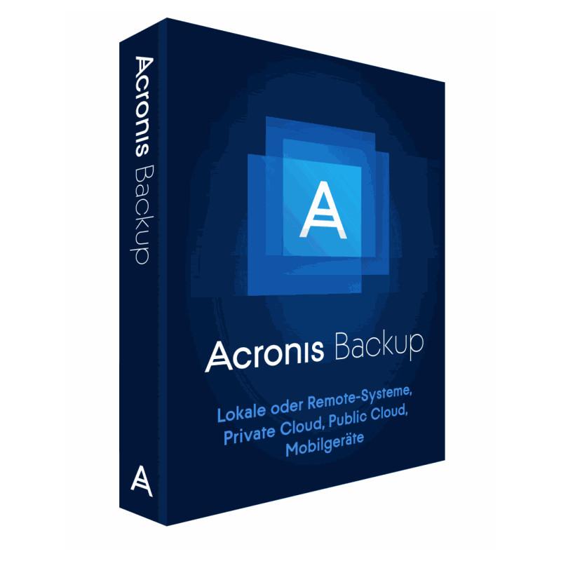 Acronis Backup 12.5 Standard Windows Server E