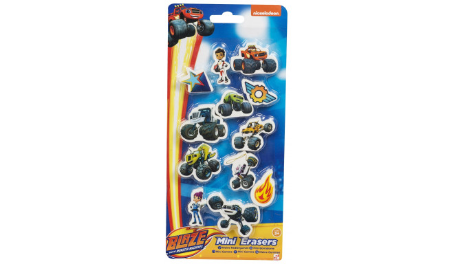 Blaze and The Monster Machines mini erasers