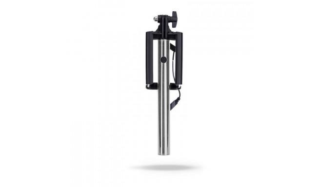 AVO+ Premium Selfie штатив с проводом 46 см Черный