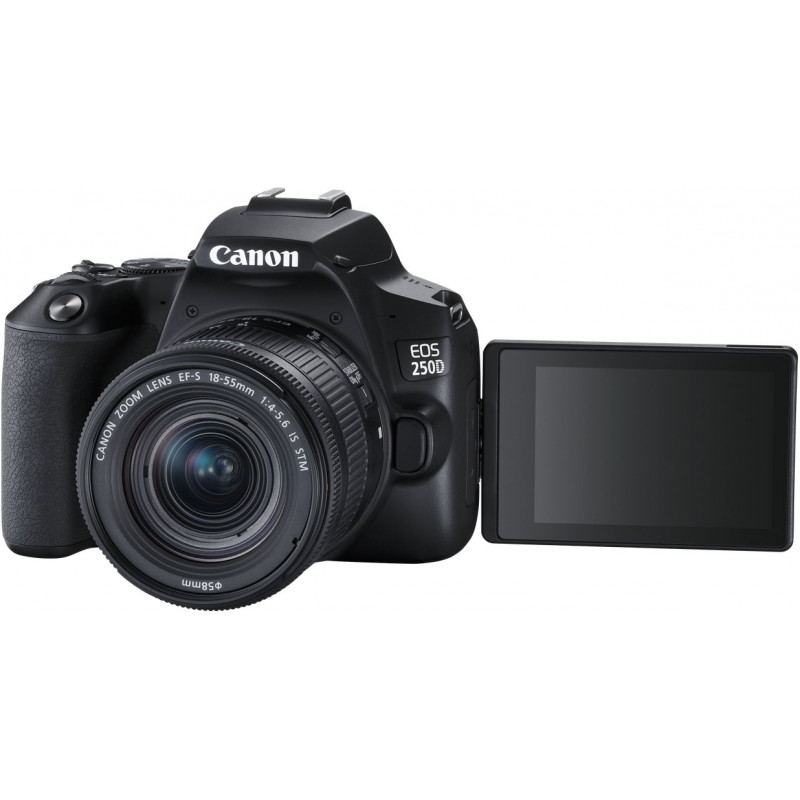 Canon EOS 250D + 18-55mm IS STM Kit, black