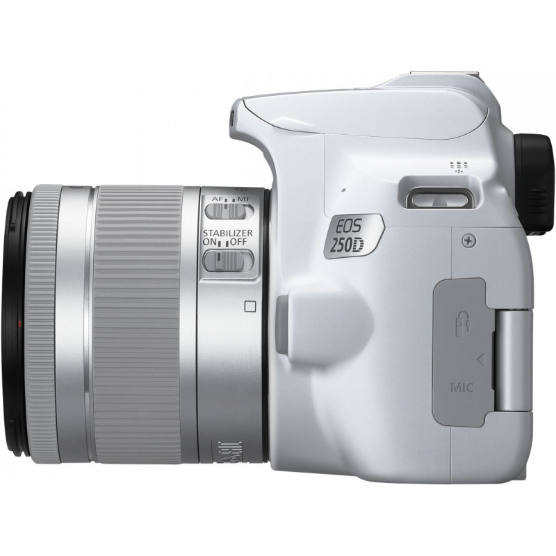 Canon EOS 250D + 18-55mm IS STM Kit, white