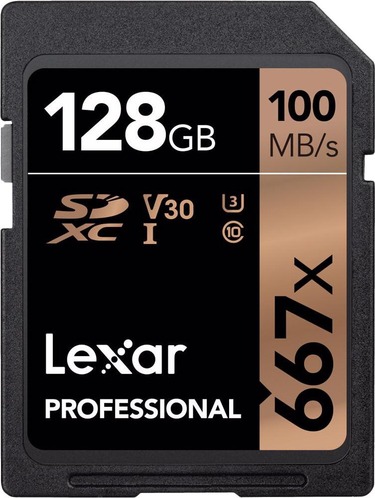 Lexar mälukaart SDXC 128GB Professional 667x U3 ..