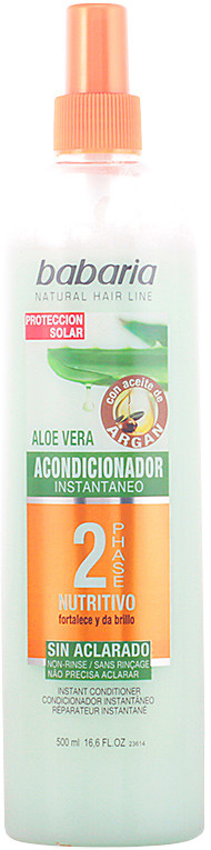 Babaria spreipalsam Aloe Vera & Argan Oil 500ml