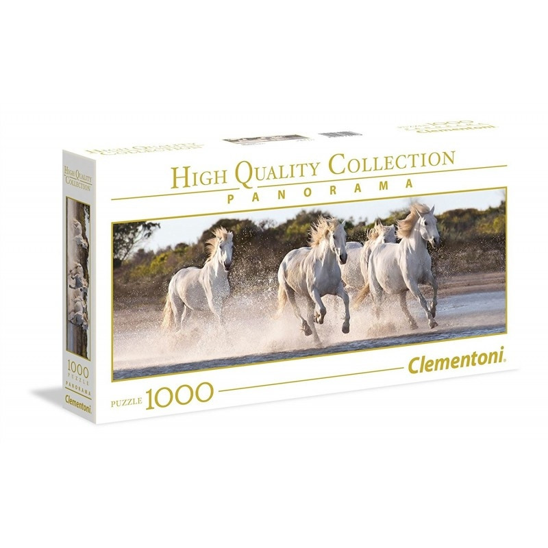 1000 elements Panorama High Quality Running Horses