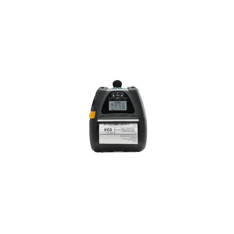 Zebra QLn420, USB, RS232, BT, Wi-Fi, NFC, 8 dots/mm (203 dpi), RTC,  display, EPL, ZPL, CPCL (QN4-AUN