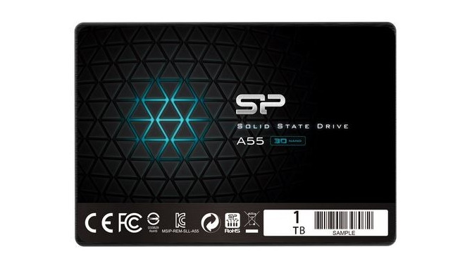 """Silicon Power SSD Slim Ace A55 1TB 2.5"""" SATA3 560/530MB/s"""