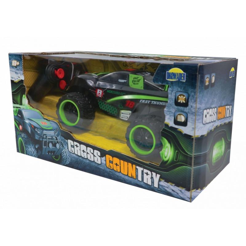 Car on Radio Cross Country