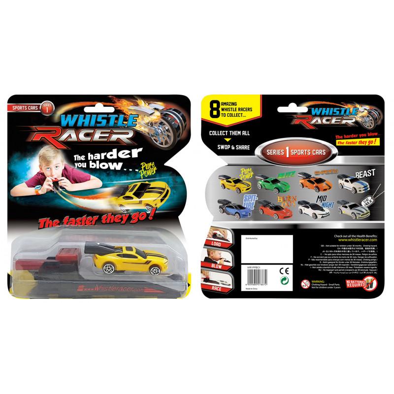 """Puhutav võidusõiduauto """"Whistle Racer"""" stardi"""