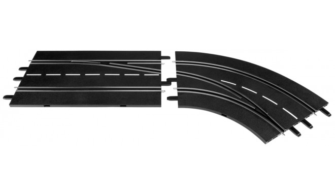 Carrera Digital 132 Lane Change Curve-right, out to in 30365