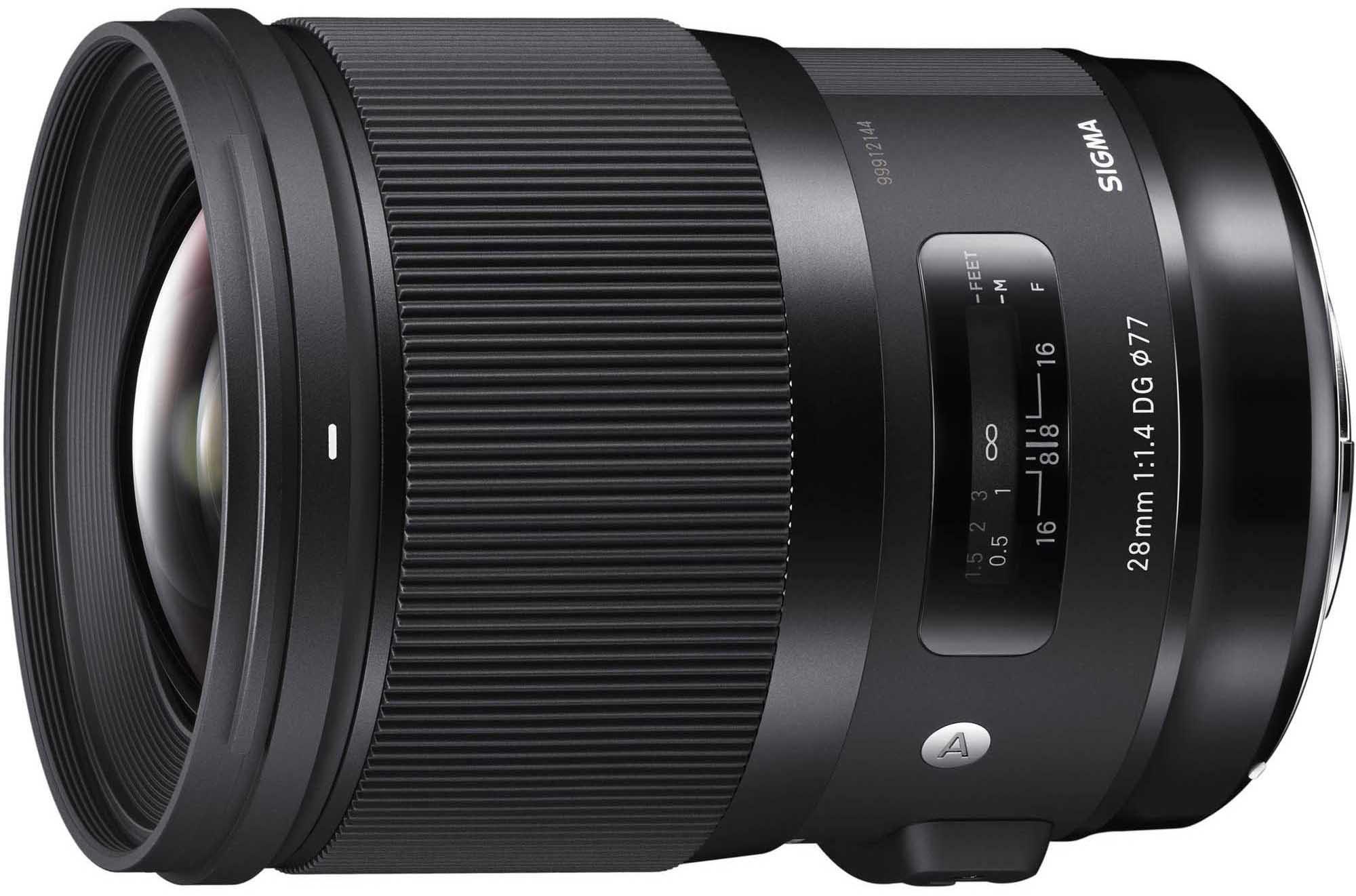 Sigma 28mm f/1.4 DG HSM Art objektiiv Sonyle