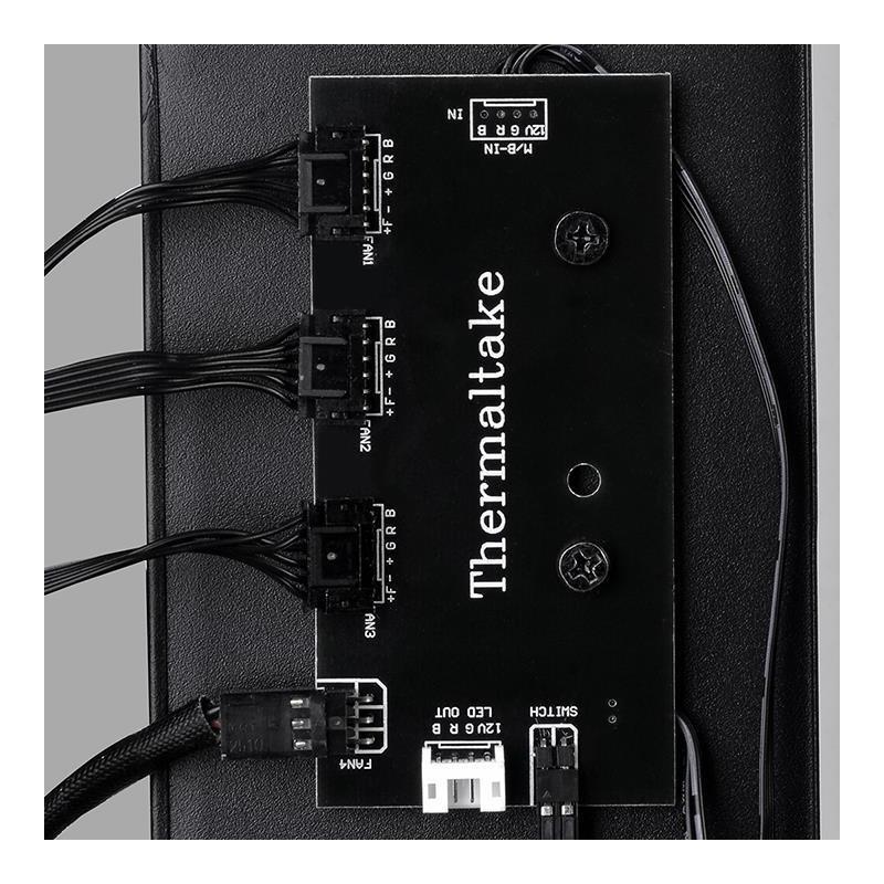 bdec4237c2e Thermaltake arvutikorpus Versa J25 RGB, must (CA-1L8-00M1WN-01 ...