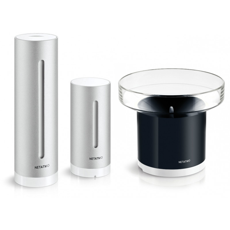 Netatmo ilmajaam Weather Station + vihmaandur Rain Gauge