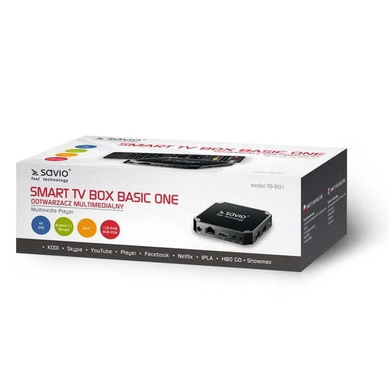 CD player multimedia SAVIO TB-B01 (8GB; black color)