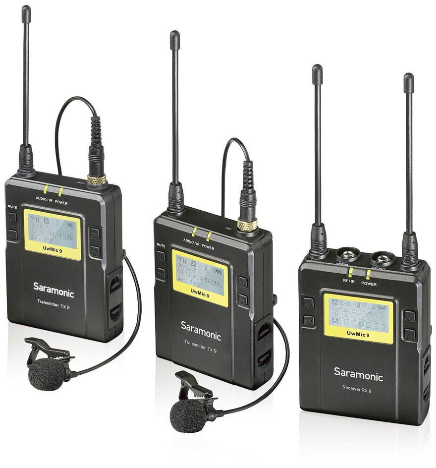 Saramonic mikrofoni komplekt UwMic9 RX9 + TX9 + T..