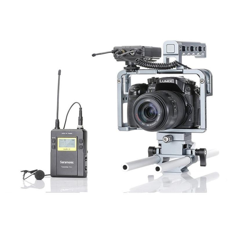 Saramonic mikrofona komplekts UwMic9 TX9 + RX9 + SR-C6
