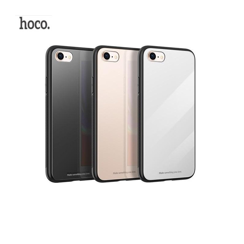 2903ada62 Hoco Premium Vitreous Shadow Back Case Silicone Case for Apple iPhone 7 Plus    iPhone 8