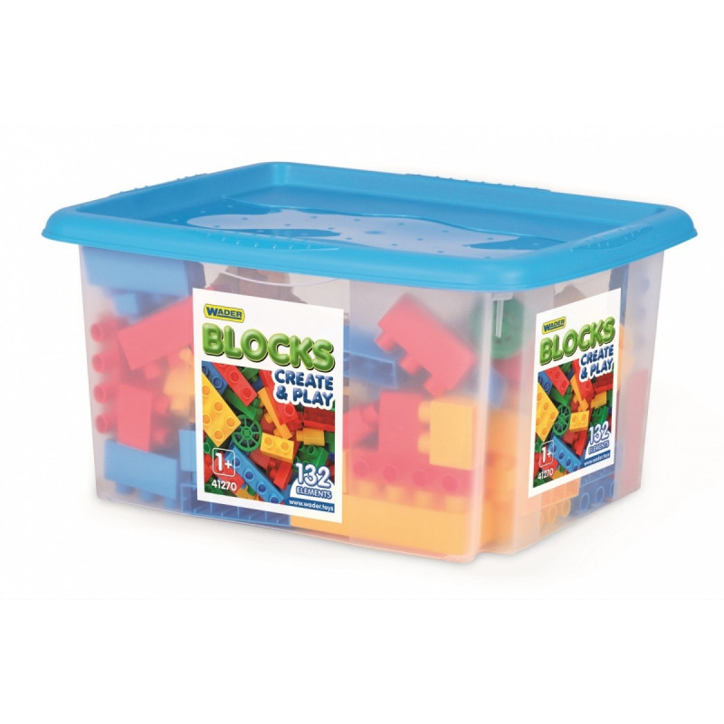 Blocks 132 pcs in the container