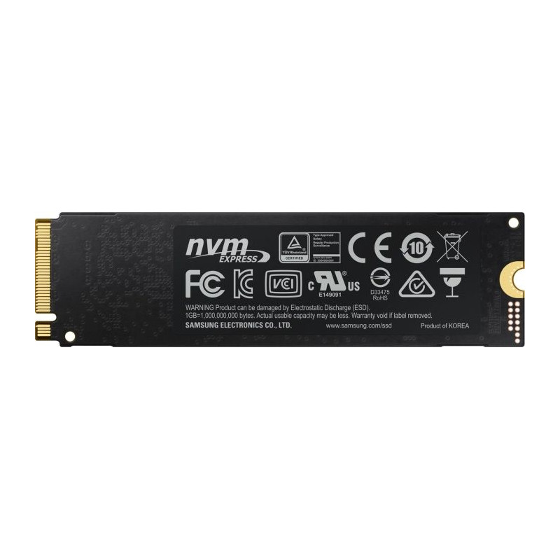 Samsung SSD 970 PRO 512GB PCIe Gen 3.0 x4, NVMe 1.3