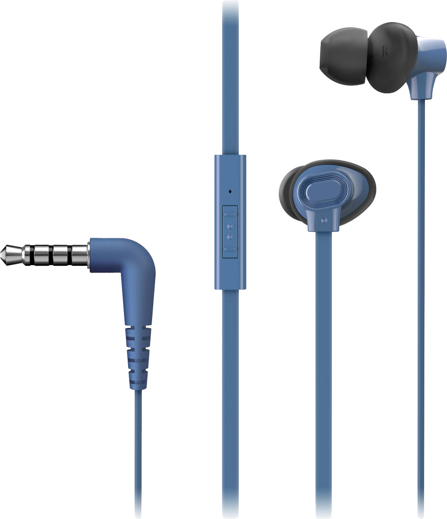 Panasonic kõrvaklapid + mikrofon RP-TCM130E-A, s..