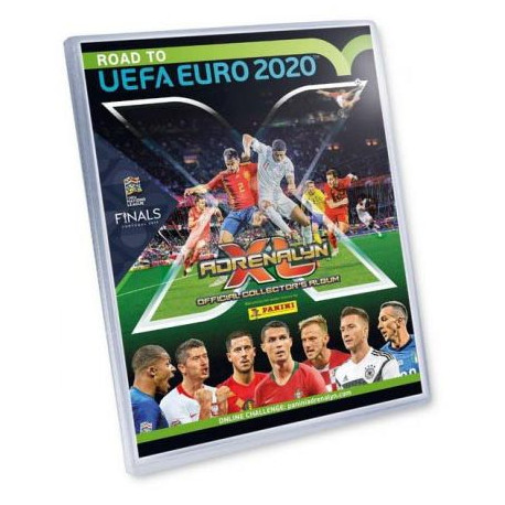 Panini football card album UEFA Euro 2020