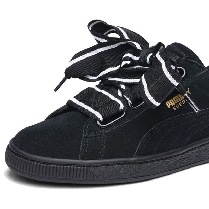 best loved 5ce12 45004 Women's casual shoes Puma Suede Heart Satin II W 364084 01