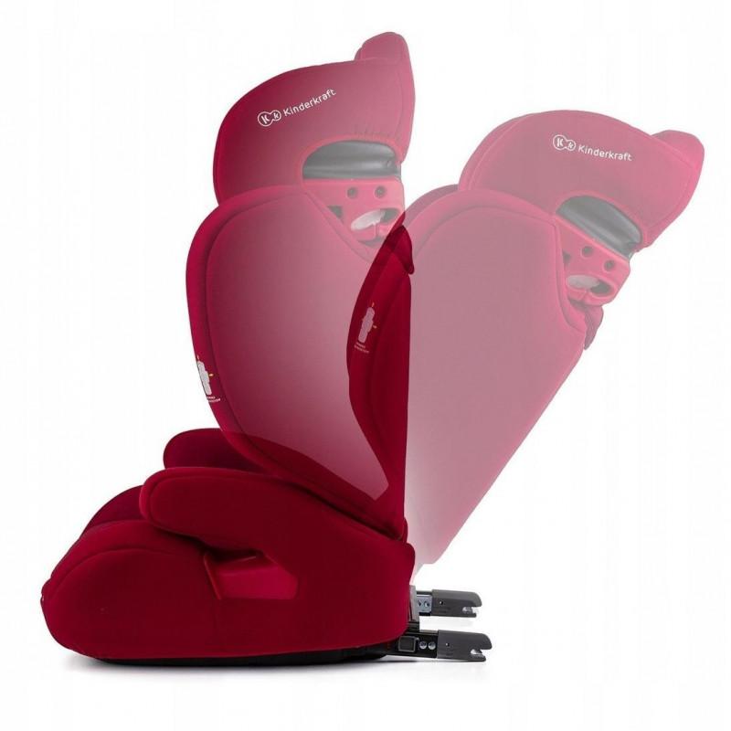 Baby seat car KinderKraft Xpand KKFXPANRED0000 (ISOFIX, Seat belts