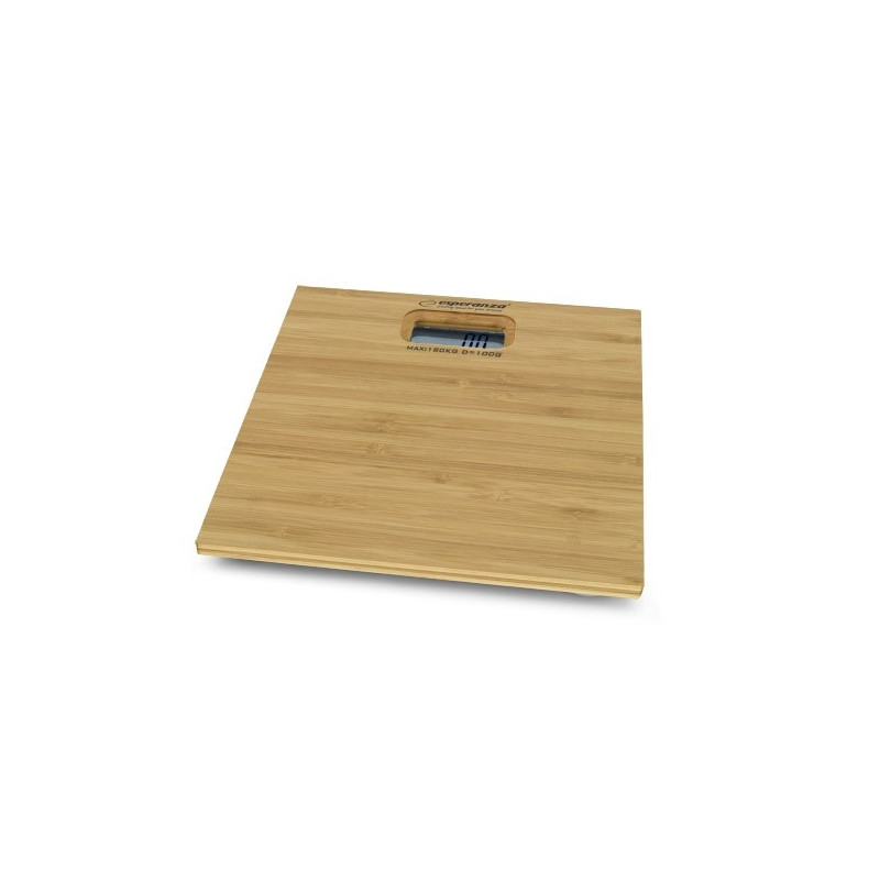 Digital bathroom scale BAMBOO EBS012