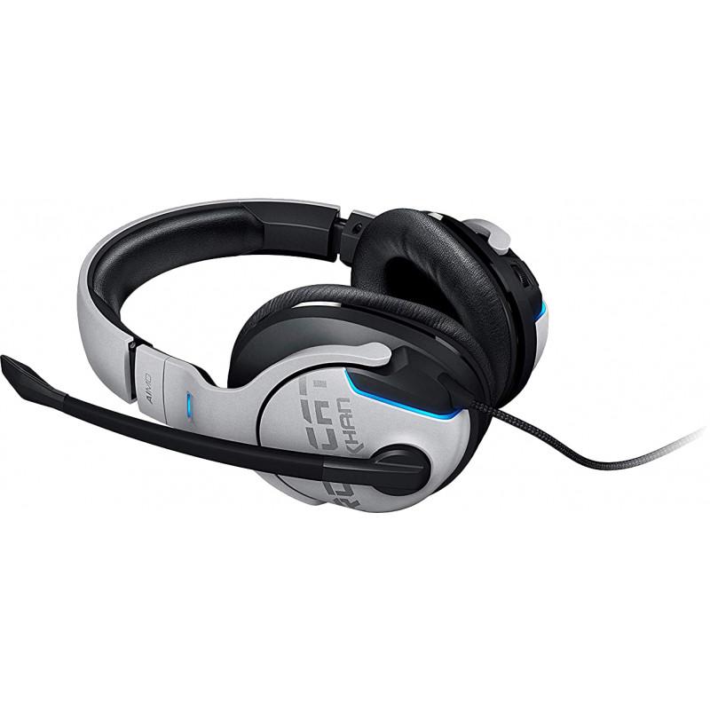 Roccat kõrvaklapid + mikrofon Khan Aimo, valge (ROC-14-801)
