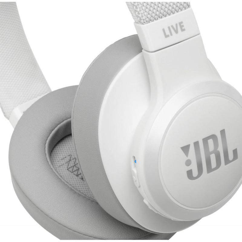 JBL wireless headset Live 500BT, white