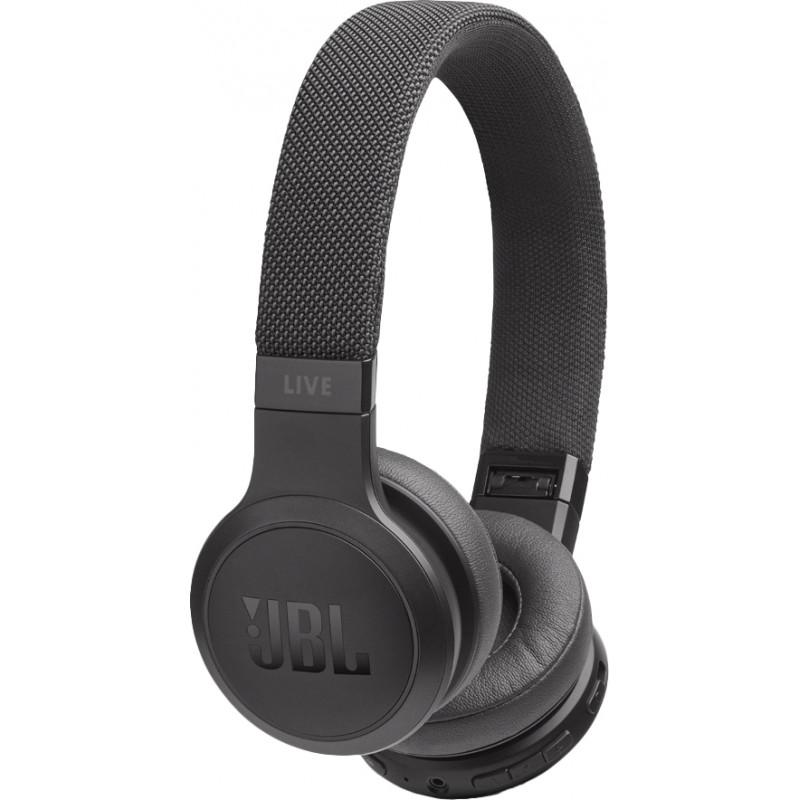 JBL juhtmevabad kõrvaklapid + mikrofon Live 400BT, must