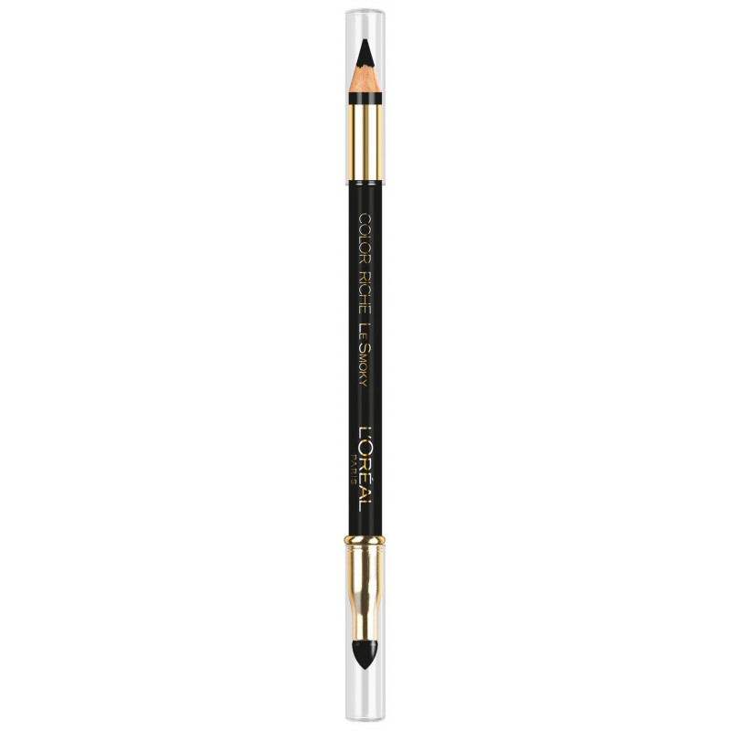 Crayons Loreal Superliner Color Riche Le Smoky Black 201 Black Velour (5 g)