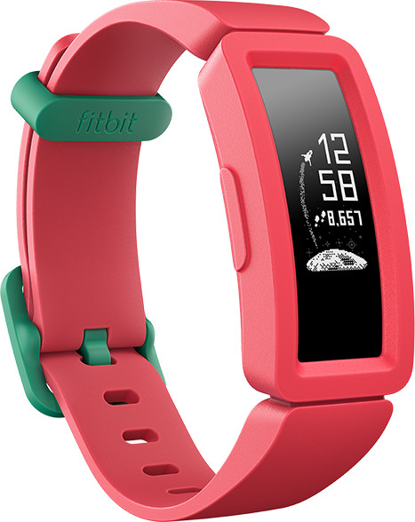 Fitbit aktiivsusmonitor Ace 2, watermelon/teal