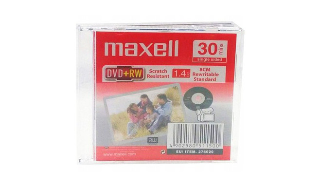 Maxell DVD+RW 1,4GB 4x 30min Slim