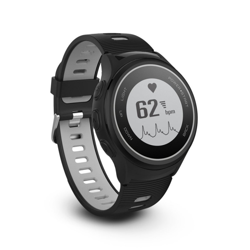 Forever Smart SW-600 Triplex Sport Watch with GPS / Pulsometer / IP68 / BT 4.2 / Compass / Weather /
