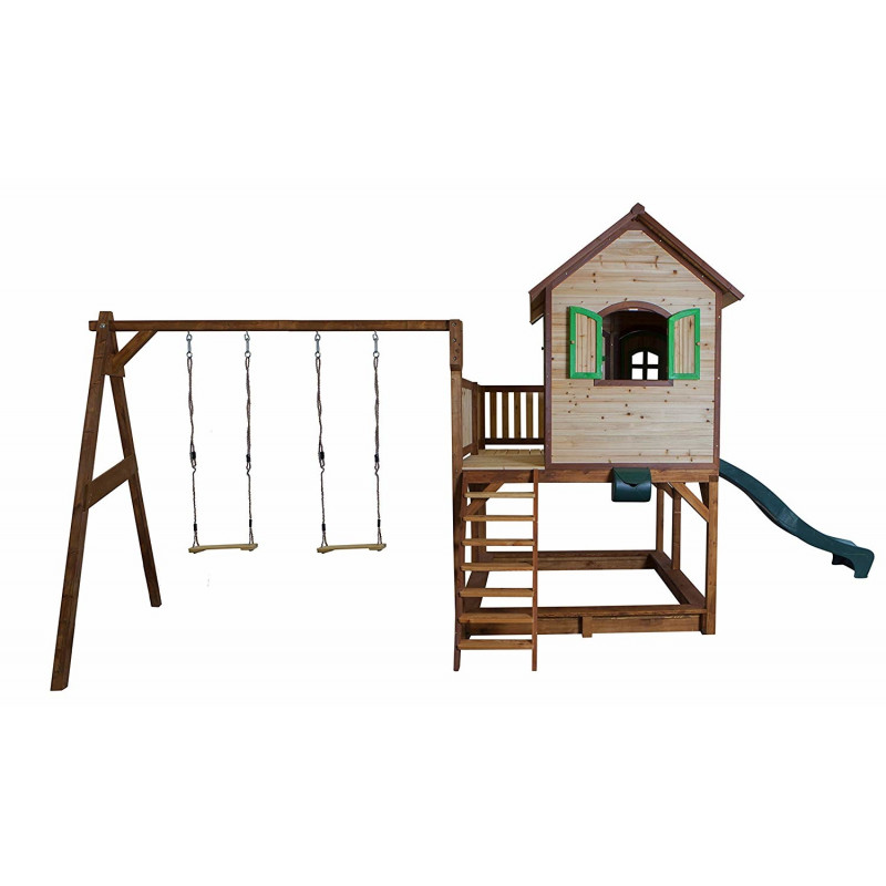 Axi Liam double swing playhouse - A030.153.00