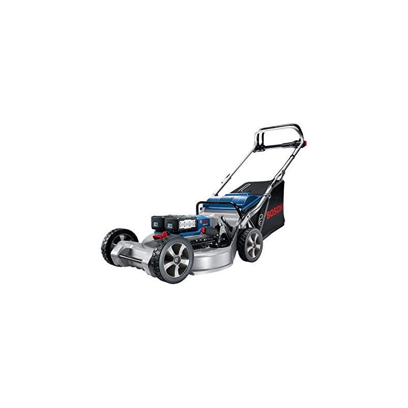 Bosch cordless lawn mower GRA 53 Professional, 36Volt (blue / silver, without battery and charger)