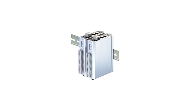 Ethernet Remote I/O with 2-port Ethernet switch and 16 DIs , -40 to 75°C