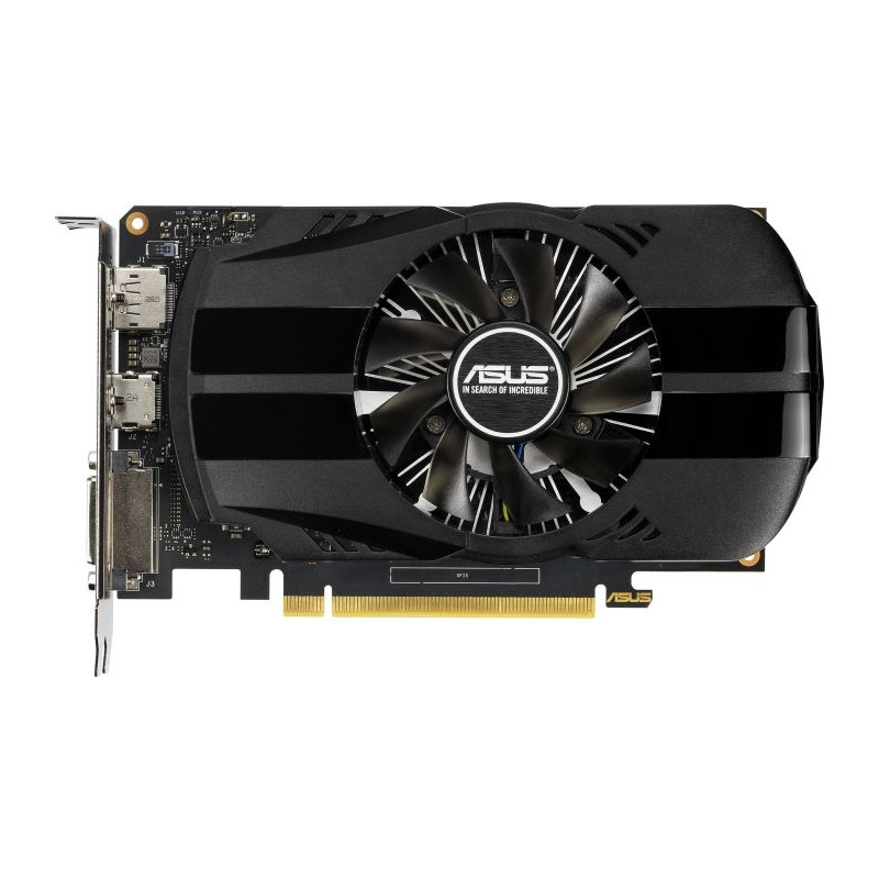 ASUS GeForce GTX 1650 PH - 4 GB -  graphics card (HDMI, DisplayPort, DVI-D)