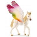 Schleich toy figure Rainbow Unicorn foal (70577)