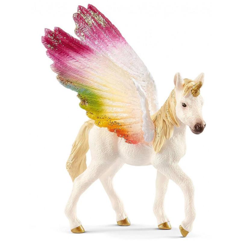 Schleich mängufiguur Rainbow Unicorn varss (70577)