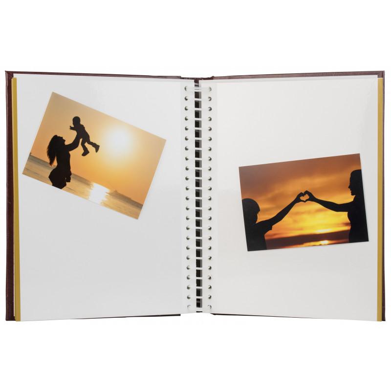 Album SA40S Magnetic 40lk Classic, punane