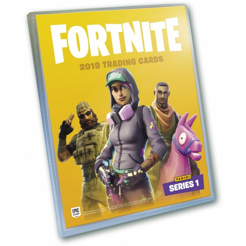 Cards Fortnite Collectors album