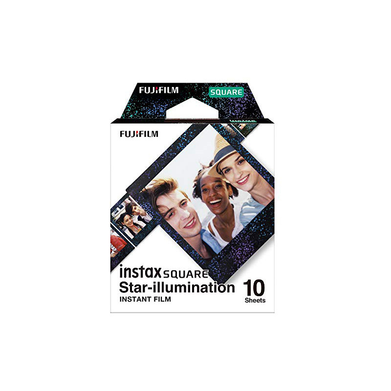 Fujifilm Instax Square 1x10 Star-Illumination